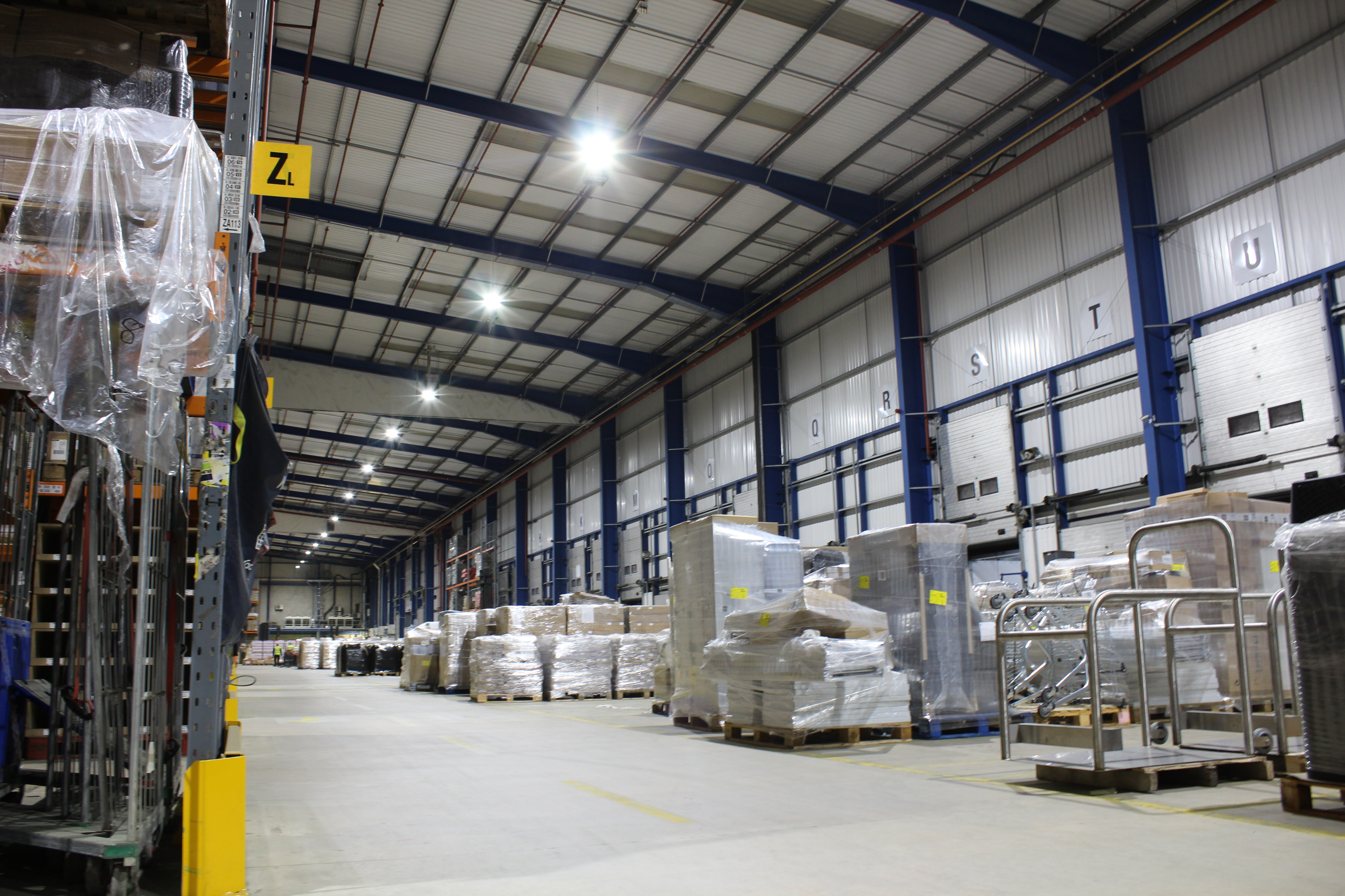 recent project carried out for led lighting in manchester
