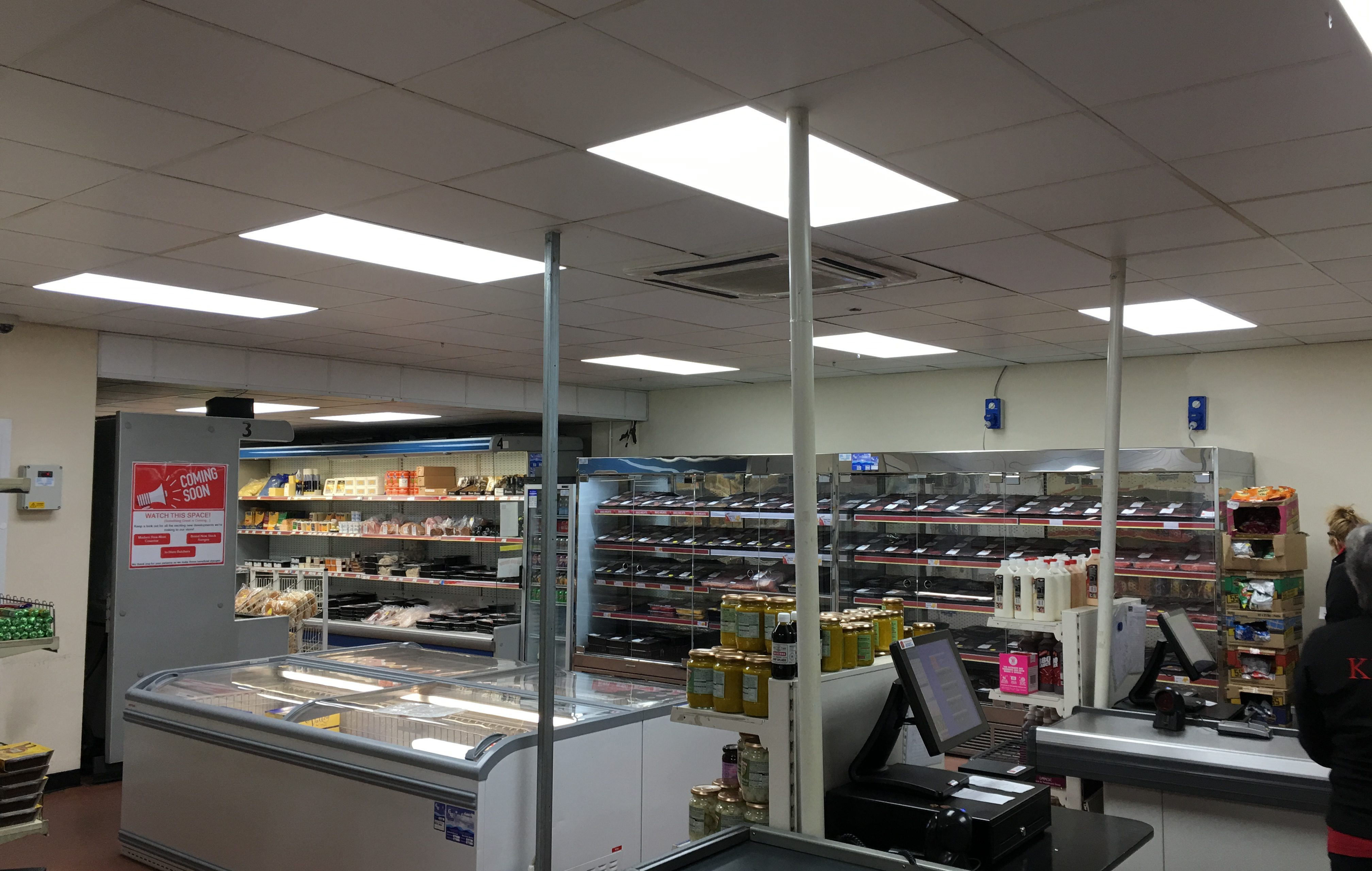 recent work carried out for led lighting in manchester
